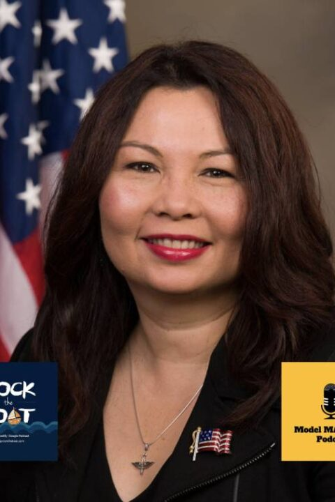 Senator Tammy Duckworth (with Rock the Boat)